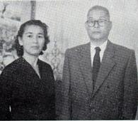 第1植民団の一人、野村隆輔夫妻