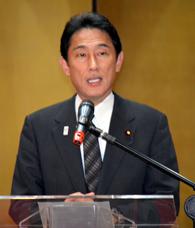 昨年9月に当地を訪れた岸田外務大臣
