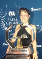 昨年仏国パリの授賞式にて(写真=F1 GP グランプリ広報)