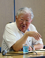「川畑はカントの哲学専門用語を的確につかった」と語る前山さん