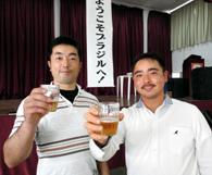 研修に臨む橋本さん、入江さん