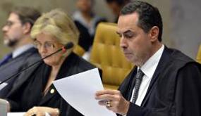 13日公判でのバローゾ(Jose Cruz/Agencia Brasil)