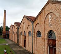 移民史料館として生まれ変わった海興の旧精米所