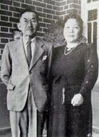 安田良一・シズノ夫妻(『在伯日本人先駆者伝』(パ紙、1955年、489頁)