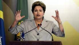 「ネットムンジアル」でのジウマ大統領Valter Campanato/Agencia Brasil