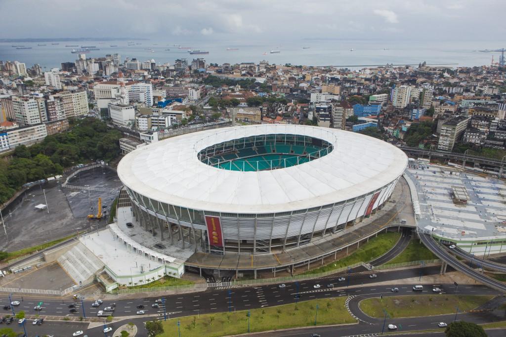 アレナ・フォンチ・ノーバ (Foto: David Campbell-Faquini/ Portal da Copa)