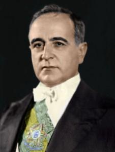 1930年に臨時大統領に就任した当時のヴァルガス公式写真(Dominio publico)