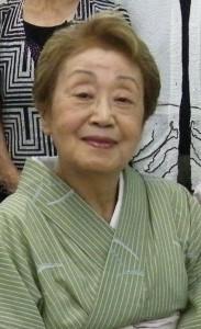 藤間芳之丞さん(2012年撮影)