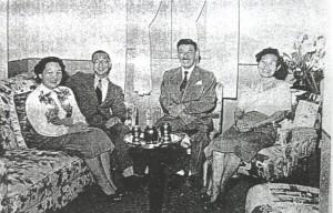 『志村啓夫文書2012』にある松原安太郎の写真(右から2人目)