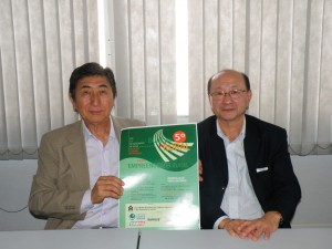 桂川委員長と福原副委員長