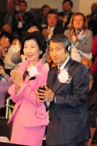 国際教修会に出席した谷口夫妻