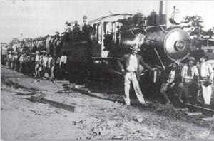 ノロエステ鉄道工夫