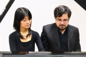 矢崎、レアンドロさん(左から)