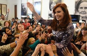 クリスティーナ・フェルナンデス大統領(Foto: Presid麩cia da Argentina 04/09/2014)