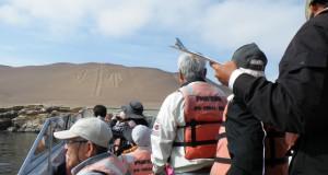 バレスタス島ツアーで見学した地上絵のレプリカ