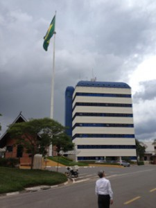 ブラジルビジネスパークの外観