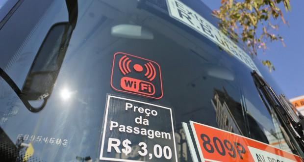 聖市内を走るバス(Fabio Arantes/SECOM)