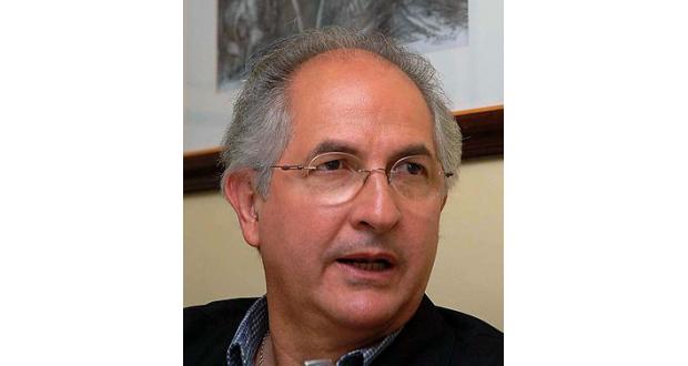 逮捕されたアントニオ・レデズマ・カラカス市長(ウィキペディアより)
