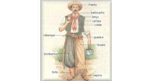 伝統的なガウショの衣装(翻訳者提供)