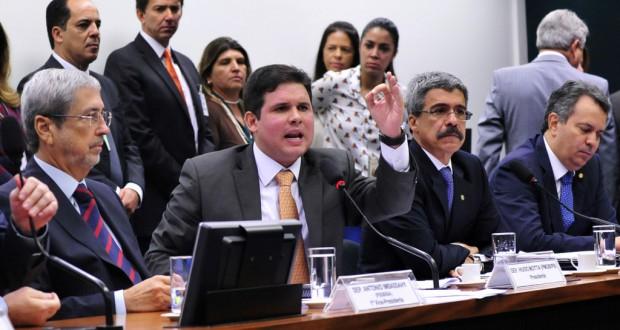 5日のCPIでのウゴ・モッタ委員長(Gabriela Korossy/Câmara dos Deputados)
