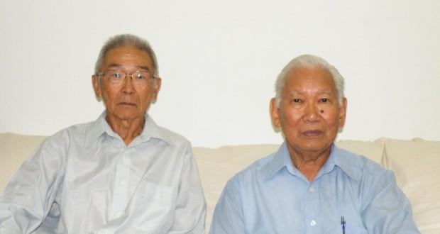 宮村前会長と河崎新会長