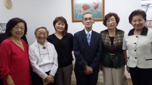 (左から)上島さん、吉安さん、北川さん、早川さん、志田さん、呉屋さん