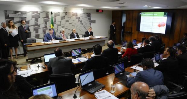 3月31日のCAEの様子(Edilson Rodrigues/Agência Senado)