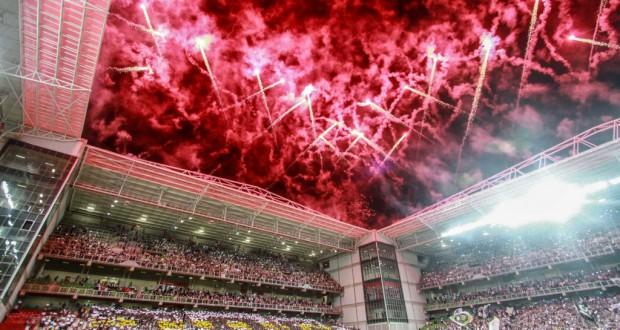 逆転突破を信じ満員の観客が後押ししたアトレチコ・ミネイロのホーム、インデペンデンシア(Bruno Cantini/Atlético Mineiro)
