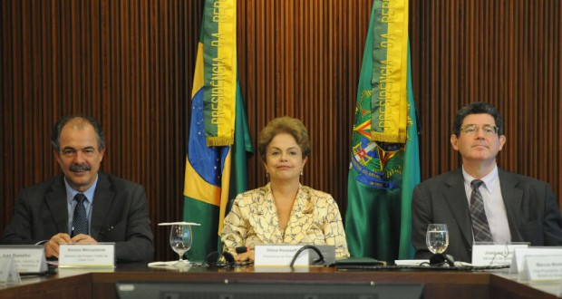 汚職問題で批判の高まるジウマ大統領(José Cruz/Agência Brasil)