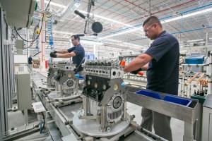 不況に突入するブラジル経済に殴り込みをかけるように、昨年8月に工場開設した中国のチェリー自動車(Foto: CheryBrasil/SDPress)