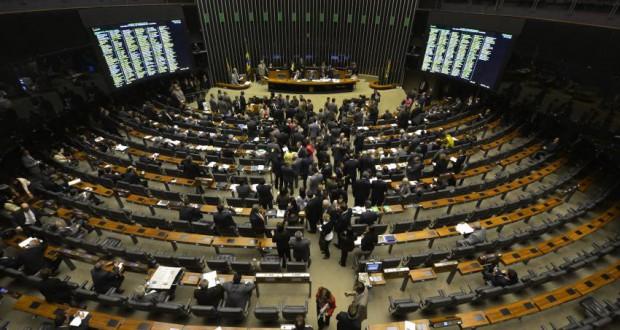 8日の下院の様子(José Paulo Lacerda/CNI)