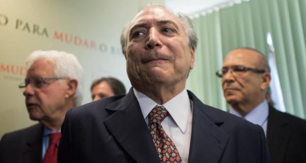 ミシェル・テメル副大統領(Marcelo Camargo/Agência Brasil)
