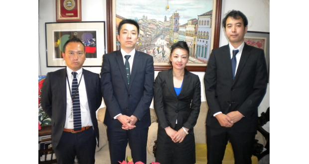 (左から)遠藤、藍原、藤田、栁澤各氏