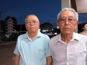 平井エリオさんと井沢幸雄さん