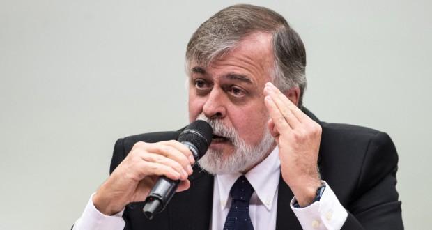 下院CPIでのコスタ被告(Marcelo Camargo/Agência Brasil)