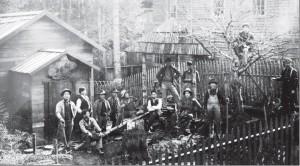 1910年当時のヤマの様子(写真提供=ベインブリッジ島歴史博物館)