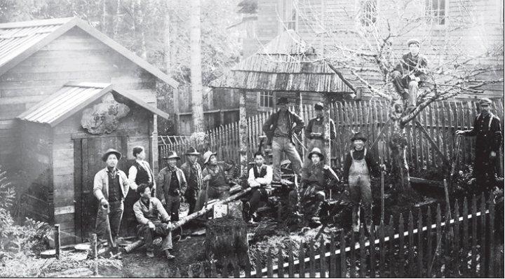 北米報知=米国日系移民始まりの場所=ベインブリッジ島の日本村跡 ...