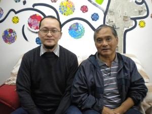 鈴木さん(左)と玉城さん