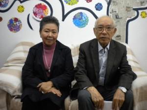 小田さん(左)と山田会長