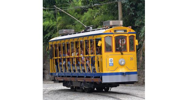 27日に再開したリオの路面電車、「サンタテレーザのボンジ」(Henrique Freire/Secom RJ)