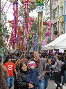 サンパウロ市の風物詩の七夕祭り