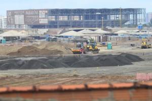 ただでさえ遅れているリオの建設現場に、さらに遅延が生じるかも(Foto: Fernando Frazão/Agencia Brasil)