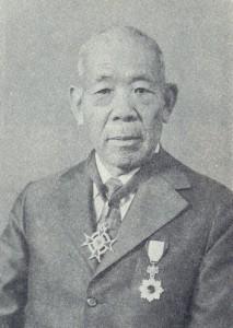 上野米蔵さん(『上野米蔵伝』より)