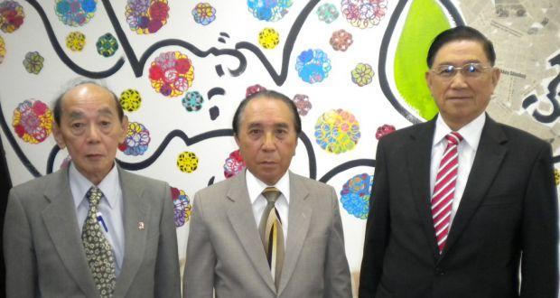 「真の教えを大切にしたい」と語る城、松田、矢野3氏