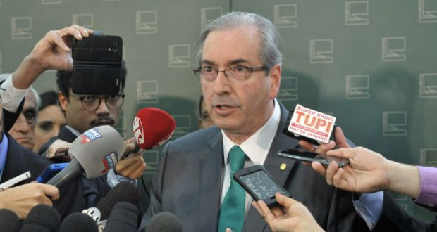 20日のクーニャ下院議長(Alex Ferreira/Câmara dos Deputados)