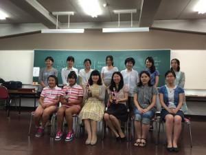 チェス全日本女子選手権の様子/出場者の皆さん