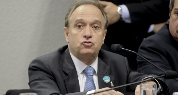 PB経営審議会議長を休職した、ムリーロ・フェレイラ氏(Marcos Oliveira/Agencia Senado)