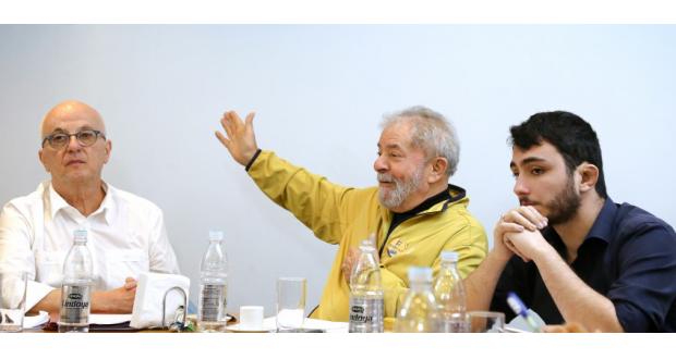 15日のルーラ氏(Ricardo Stuckert/Instituto Lula)