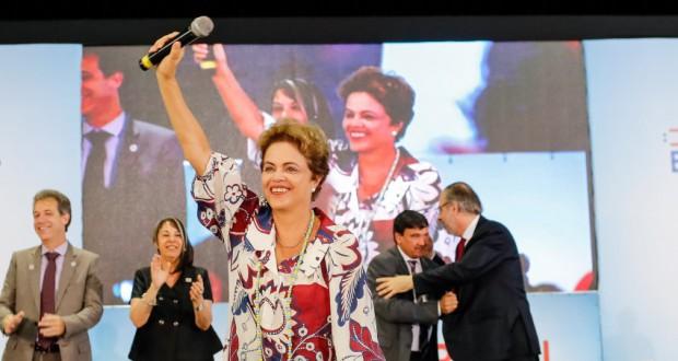 11日のジウマ大統領(Roberto Stuckert Filho/PR)