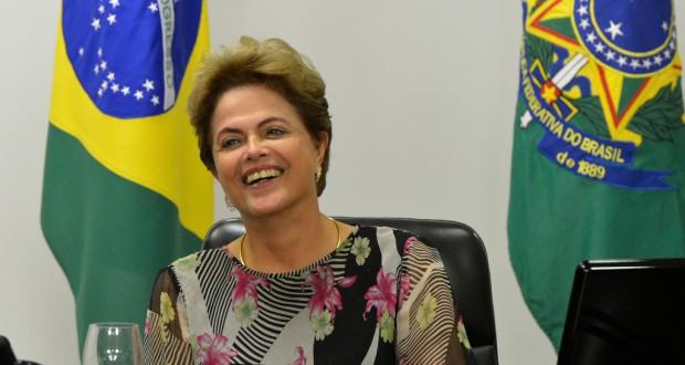 下院の連立与党代表者との会合時のジウマ大統領(Wilson Dia/Agencia Brasil)